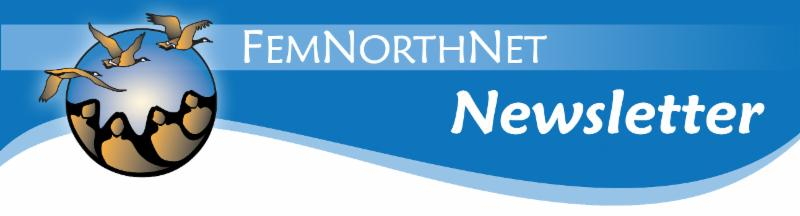 FemNorthNet newsletter header image