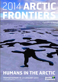 Poster for 2014 Arctic Frontiers Conference: Humans in the Arctic
