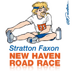 new haven road race logo