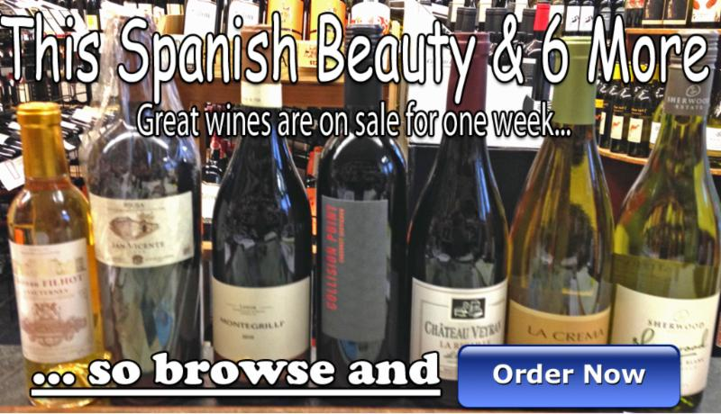 Mora's Weekly Wine Specials Jan 2 2014