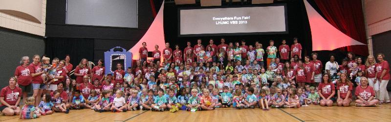 VBS 2013 group shot