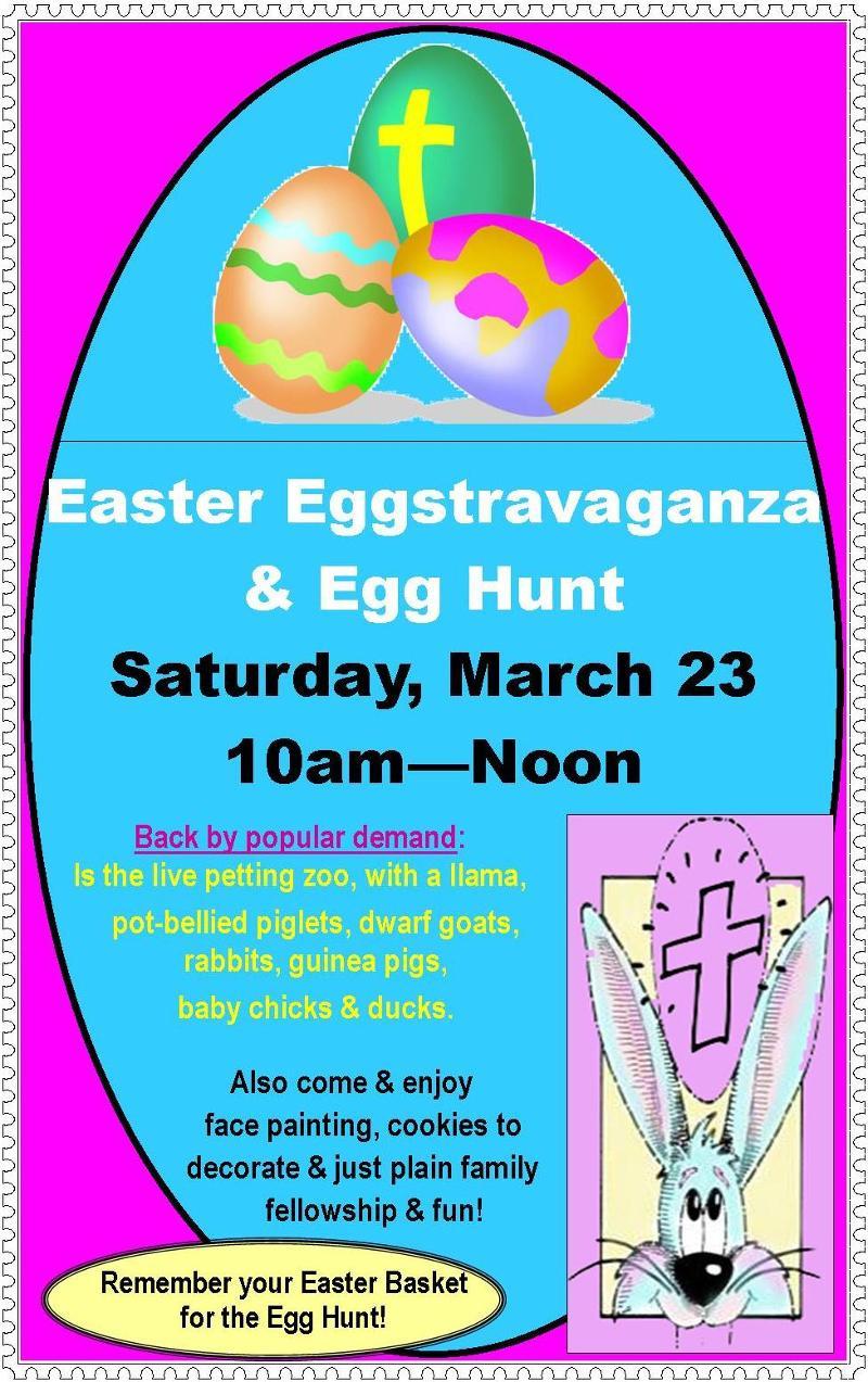 Easter Eggstravaganza & Egg Hunt