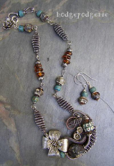 Stacy Perry Ancient Musing Necklace