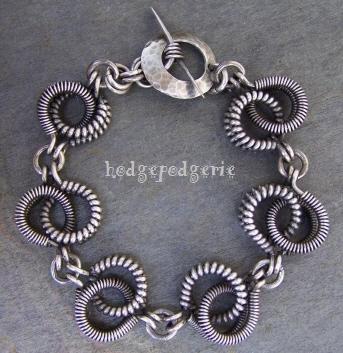 Crazy Coil Bracelet