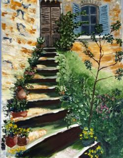 Tuscan Steps #2