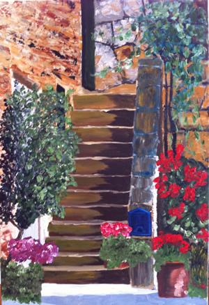 Tuscan Steps 2