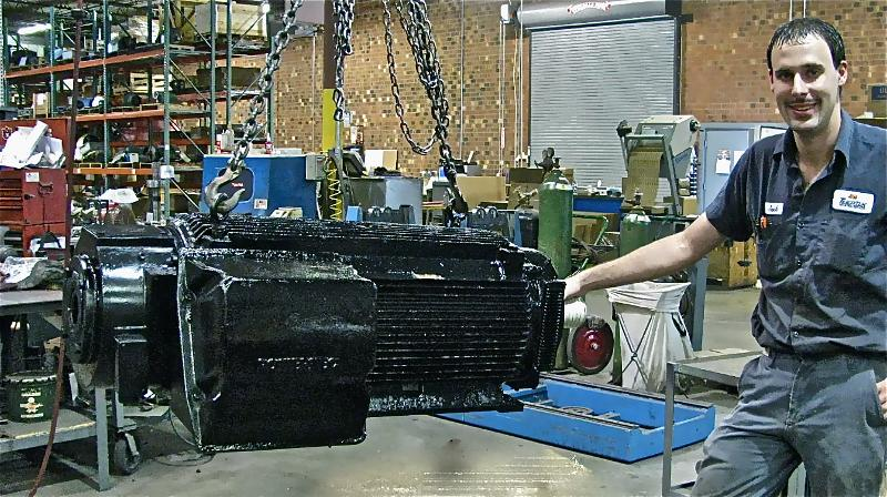 Servo Motor Repair Newsletter July 2011