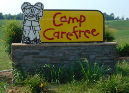 Camp CareFree Logo