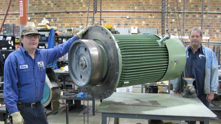 Industrial repair newsletter february 2011 for Ac electric motor repair