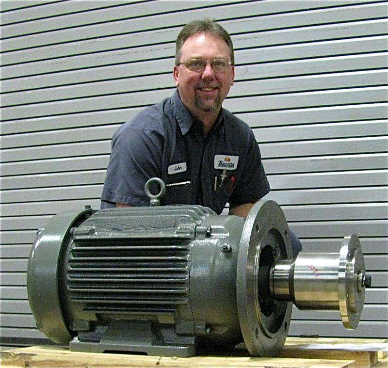Custom Baldor Motor