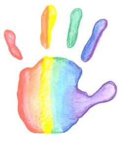 Reiki kids hand