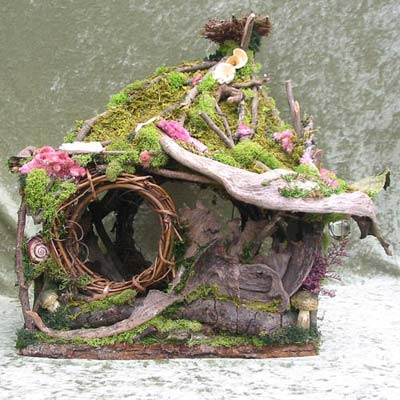 Elementals create your own fairy house december 39 s meeting for Make own house