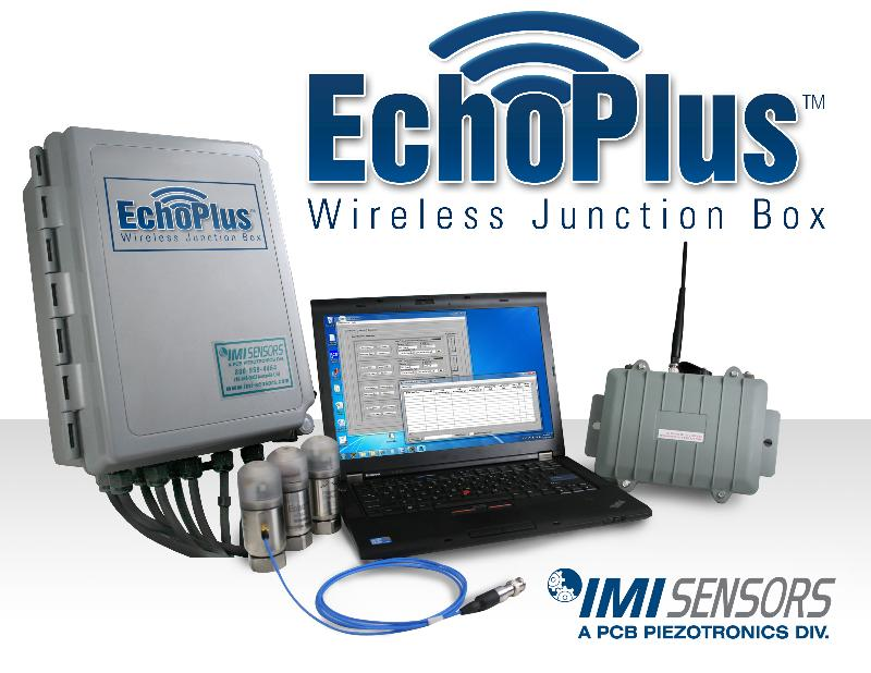 Vibration Monitoring System : Imi sensors launches echo wireless vibration monitoring