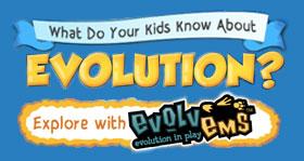 New evolution toys