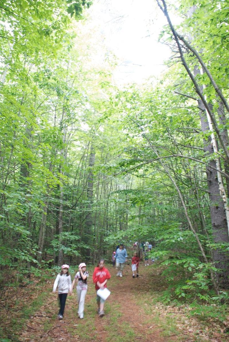 hiking at Family Camp