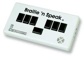 Braille and Speak (stock photo)