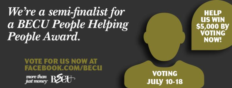 BECU People Helping People Award Semi-Finalist