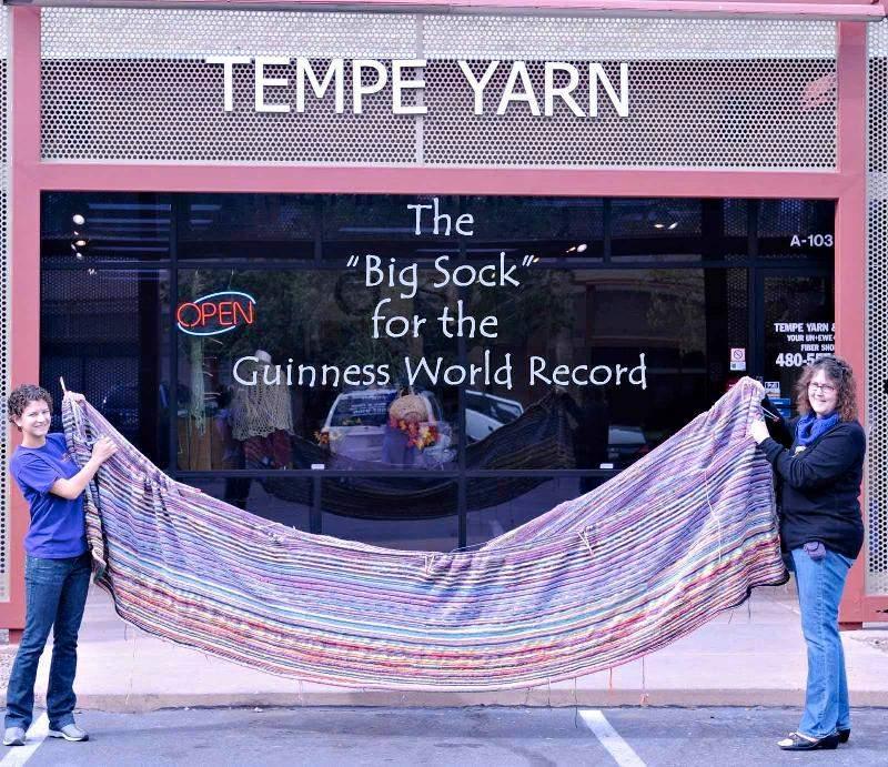 big sock outside