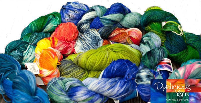 dyelicious yarn pix