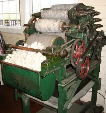 wool carding machine a