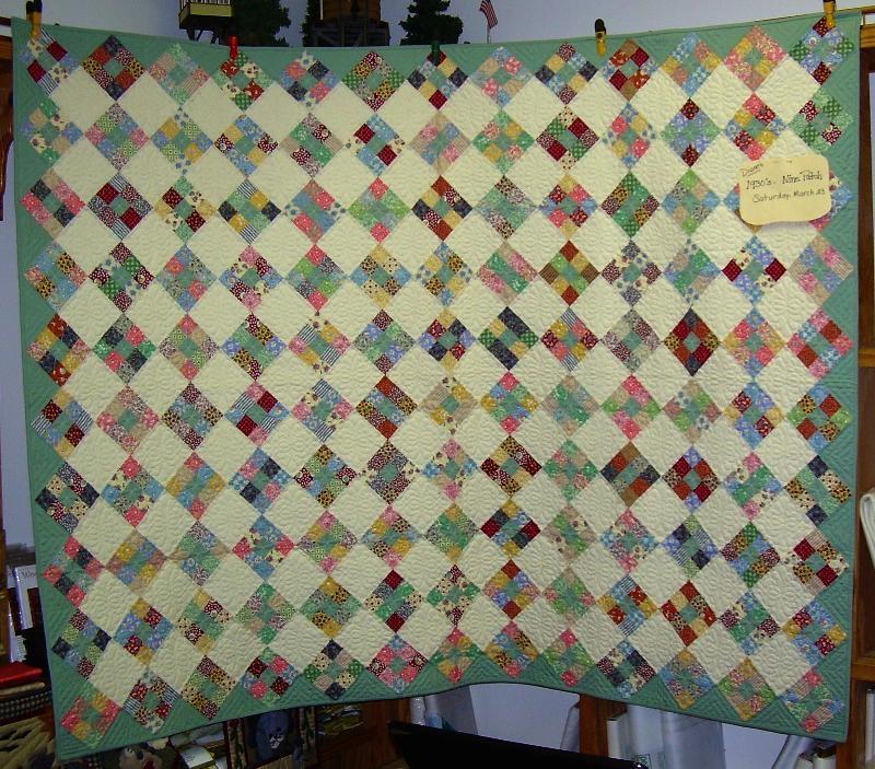 Diane H 30s quilt
