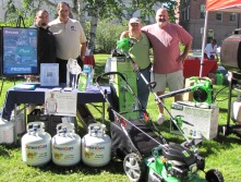 PGANE's 2010 safe grilling event in Concord, N.H.