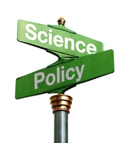 Science and Policy intersecting street signs