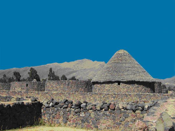 Inca Store Houses