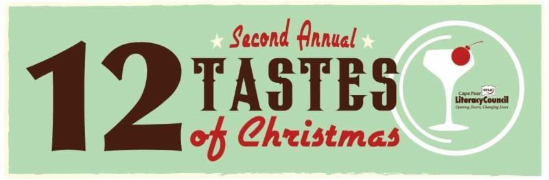 2nd annual 12 tastes of christmas a holiday benefit for for Canape wilmington nc