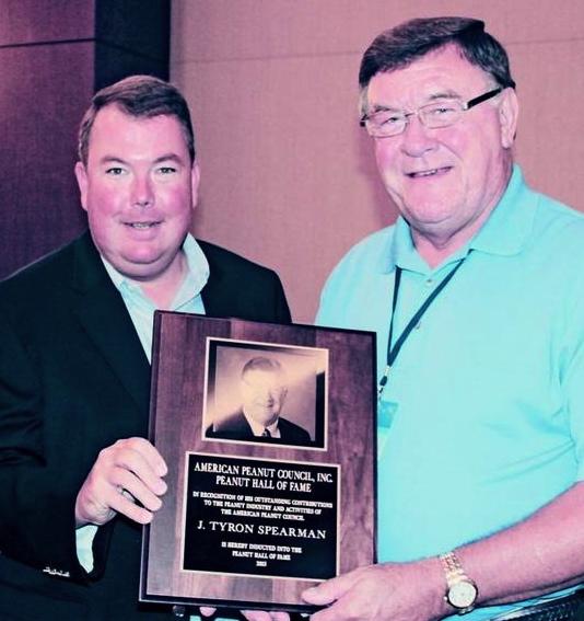 Tyron Peanut Award