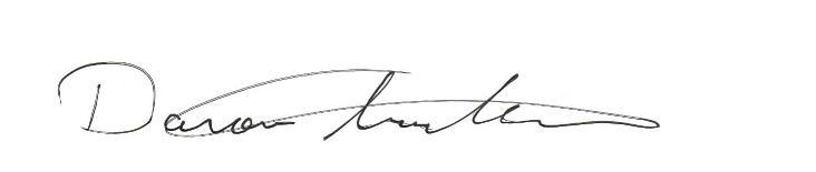 daron signature