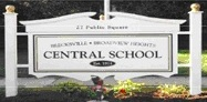 Central School Sign