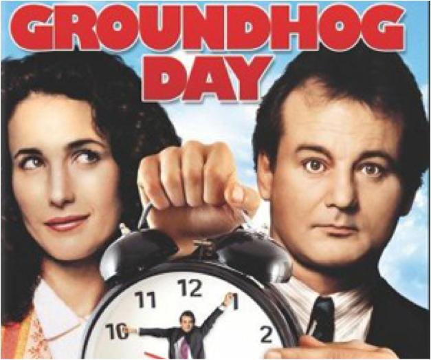 Groundhog Day Poster Image