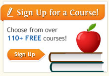 Sign up for courses now.
