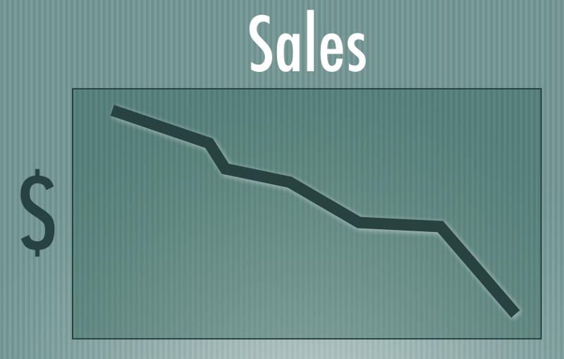 sales-down
