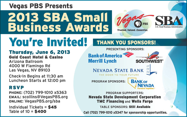 2013 SBA Small Business Awards