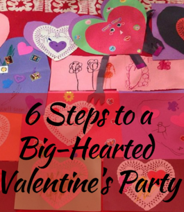 Valentine Day Card Party