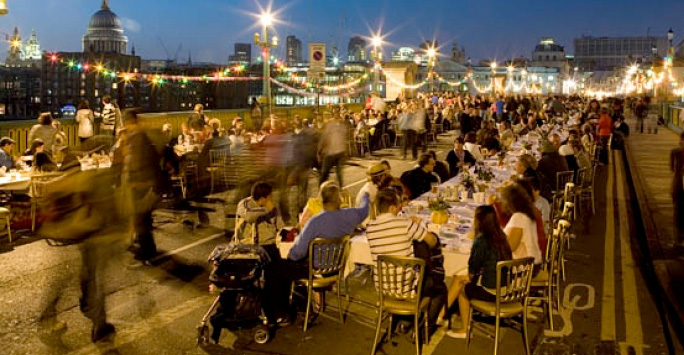 Feast On The Street Brings Our Community And Friends Together Around A Half Mile Long Dining Table In Downtown Phoenix Transforming First Into