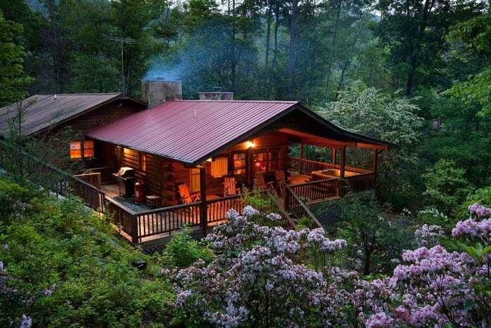 Rent A Heavenly Log Cabin In Highlands N C