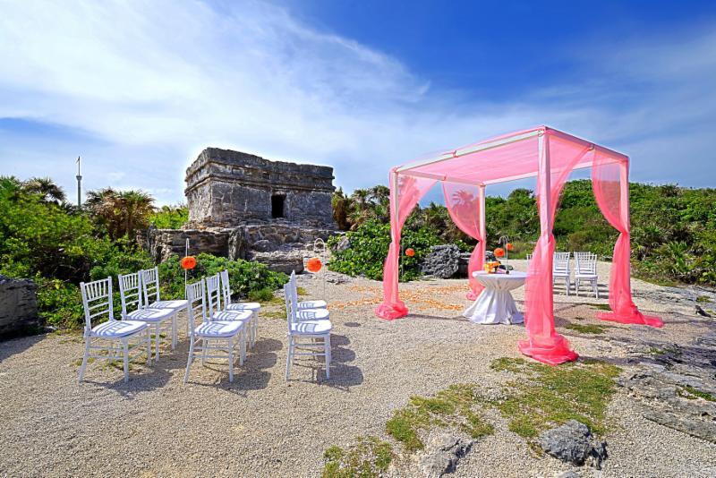 Xcaret                                                            Wedding Image