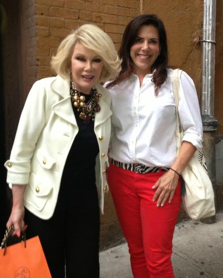 Joan RIvers and Marla Schultz