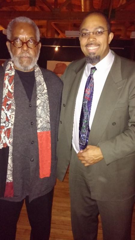 Writer Bill Harris and composer Rick Robinson