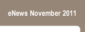 eNews November 2011