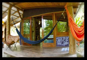 cabina porch