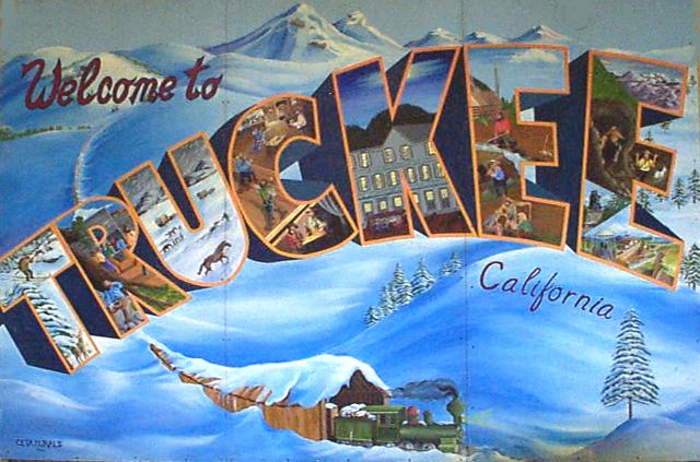 Truckee Mural