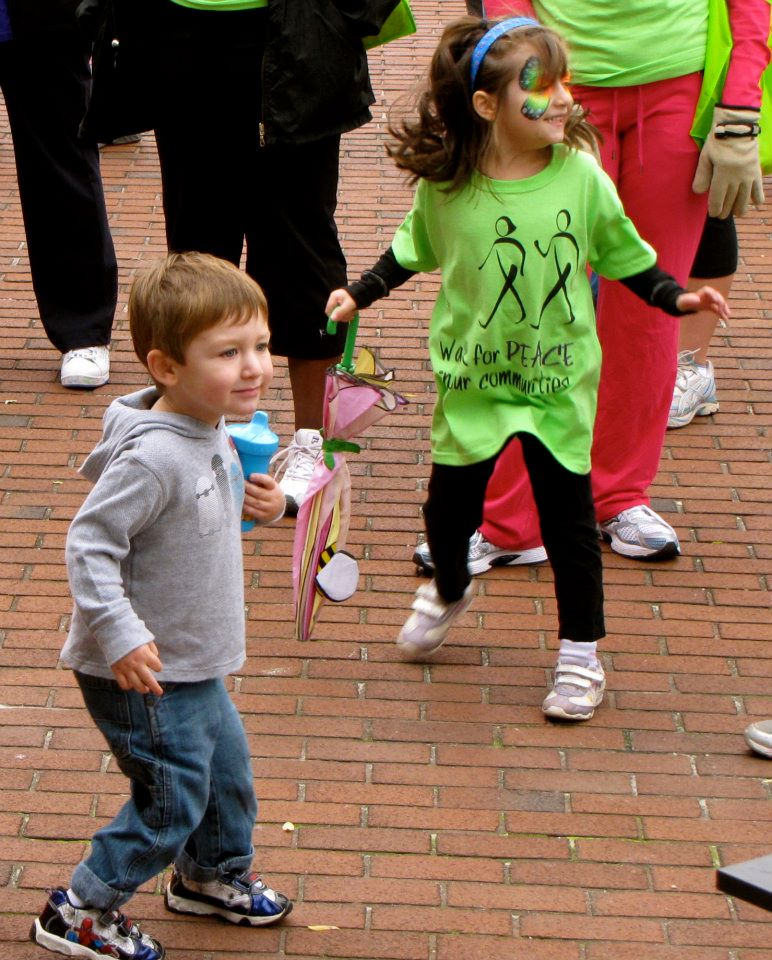 Kids Playing at Peace Walk 2011
