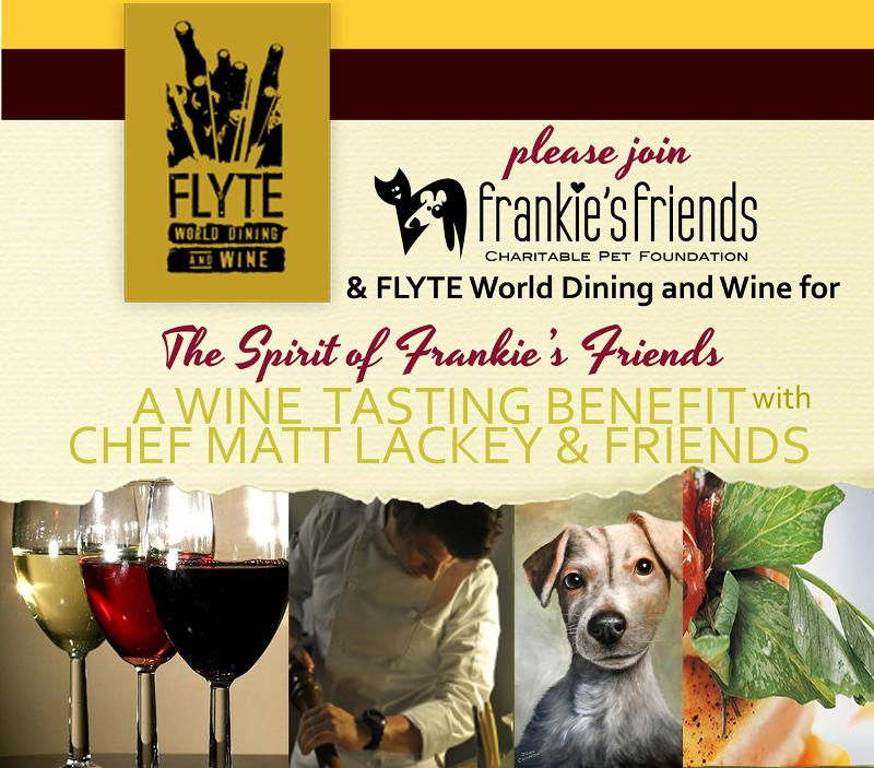 Spirit of Frankie's Friends Wine Tasting at FLYTE