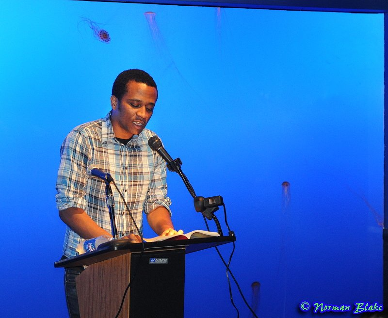 Khalil reading in 2009