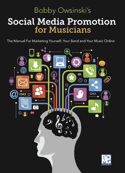 Social Media Promotion For Musicians book cover