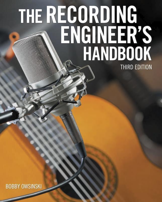 Recording Engineer's Handbook 3rd edition cover